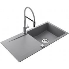 Évier de cuisine Cristalite EPURE - L 1000 x l 500 x P 181 mm - sous-meuble 60 cm - Croma
