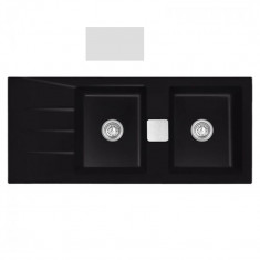 Évier de cuisine Céramique GENEA - L 1160 x l 510 x P 200 mm - Polaris mat