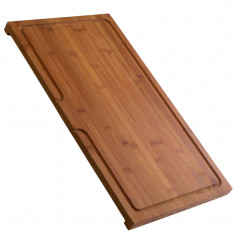 Planche à découper en bambou - L 300 x l 540 x P 25 mm - Aquatop