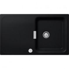 Évier de cuisine Cristadur Wembley - 860 x 510 x 200 mm - sous-meuble 50 cm - Coloris Puro - Schock