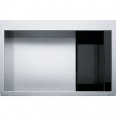 Evier Crystal Inox CLV210 - Verre noir/inox - Franke 469937