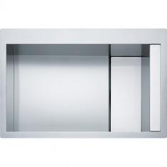 Evier Crystal Inox CLV210 - Verre blanc/inox - Franke 470407