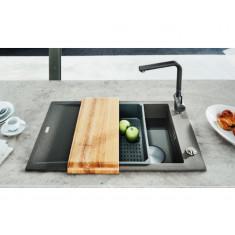 Evier de cuisine Franke FX Fraganit + FXG11-100 - 1000*500mm