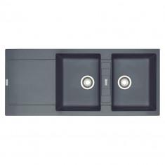 Evier MARIS MRG221 Graphite (sous meuble 60cm) 1151x491x205mm