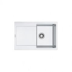 Evier MARIS FRAGANIT MRG611-78 Blanc Artic (sous meuble 45cm) 780x500x205mm