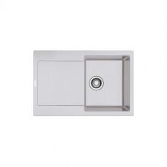Evier MARIS FRAGANIT MRG611-78 Platinum (sous meuble 45cm) 780x500x205mm