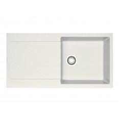 Evier MARIS FRAGANIT MRG611-XL Blanc Artic (sous meuble 60cm) 970x500x200mm