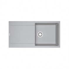 Evier MARIS FRAGANIT MRG611-97 Platinium (sous meuble 60cm) 970x500x205mm