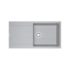 Evier MARIS FRAGANIT MRG611-XL Platinum (sous meuble 60cm) 970x500x200mm