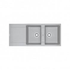Evier MARIS FRAGANIT MRG621 Platinum (sous meuble 90cm) 1160x500x205mm