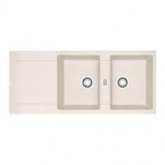 Evier MARIS FRAGANIT MRG621 Vanilla (sous meuble 90cm) 1160x500x205mm