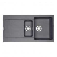 Evier MARIS FRAGANIT MRG651 Graphite (sous meuble 60cm) 970x500x205mm