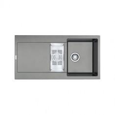 Evier MARIS FRAGANIT MRG651 Stone (sous meuble 60cm) 970x500x205/135mm