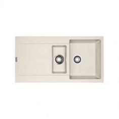 Evier MARIS FRAGANIT MRG651 Vanilla (sous meuble 60cm) 970x500x205mm