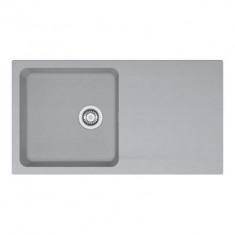 Evier ORION OID611-94 Titanium (sous meuble 60cm) 940x510x190mm