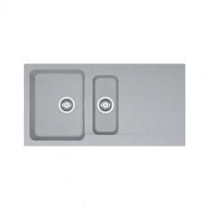 Evier ORION OID651 Titanium (sous meuble 60cm) 1000x510x190/140mm