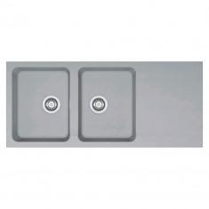 Evier ORION OID621 Titanium (sous meuble 80cm) 1160x510x190mm