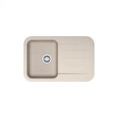 Evier PEBEL FRAGANIT PEG611-78 Café Crème (sous meuble 45mm) 780x500x200mm