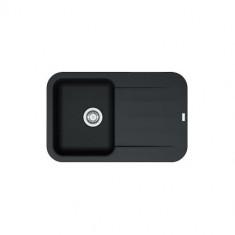 Evier PEBEL FRAGANIT PEG611-78 Onyx (sous meuble 45mm) 780x500x200mm
