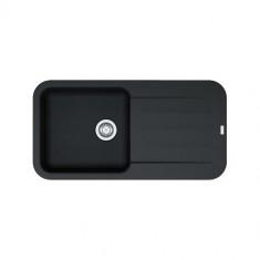 Evier PEBEL FRAGANIT PEG611-97 Onyx (sous meuble 60mm) 970x500x200mm