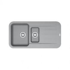 Evier PEBEL FRAGANIT PEG651 Stone (sous meuble 60mm) 970x500x200mm