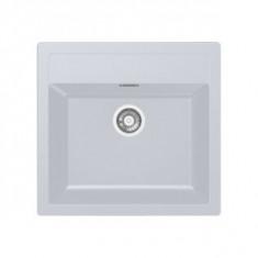 Evier SIRIUS SID610-560 Blanc Artic (sous meuble 60cm) 560x530x200mm