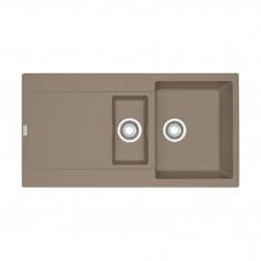 Evier MARIS FRAGANIT MRG651 Oyster (sous meuble 60cm) 970x500x205/135mm