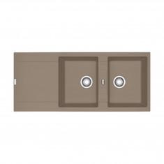 Evier MARIS FRAGANIT MRG621 Oyster (sous meuble 90cm) 1160x500x205mm
