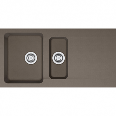 Évier ORION OID651 - Vulcan - 1000x510x190/140 mm - Sous meuble 60 cm - Franke