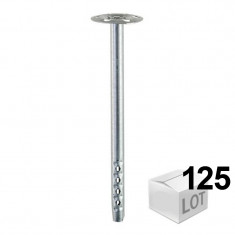 125 Chevilles DHM fixation métallique pour isolants - 2 modèles - Fischer