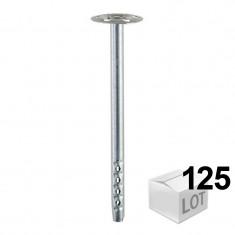 125 Chevilles DHM inox fixation métallique pour isolants - 2 modèles - Fischer