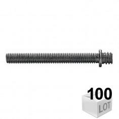 100 Pattes à vis métaux - pas métrique 7x150 Fischer - en boîte - DISPONIBLE en 9 MODÈLES