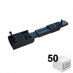 50 Fixations invisible bois FTA-IPW 120-150mm, pour fixation de lames avec et sans rainure, avec vis inox FTA-IPW