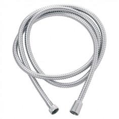 Flexible Métal laiton chromé double agraphage anti-torsion 2,00 m - Wirquin Pro 60720620