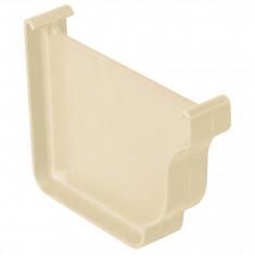 Fond de gouttière droite/gauche PVC BEST - Sable