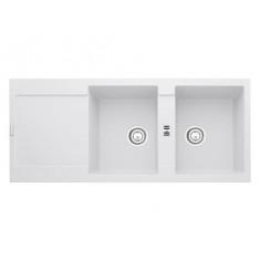 Evier MARIS MRG221 Blanc Artic (sous meuble 60cm) 1151x491x205mm