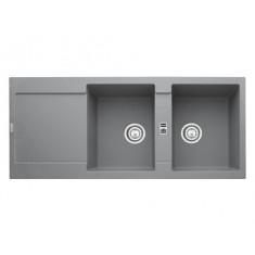 Evier MARIS MRG221 Stone (sous meuble 60cm) 1151x491x205mm