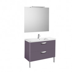 Pack Unik THE GAP 1000 2 tiroirs, lavabo, miroir et applique LED