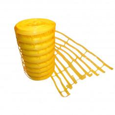 Grillage avertisseur jaune gaz 25mx30cm