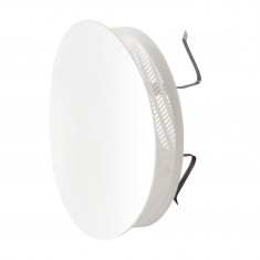 Grille Ø170mm à clipser avec plaque ronde + moustiquaire