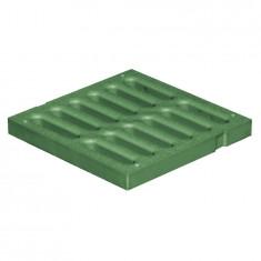 Grille de sol PVC légère anti-choc - VERT - FIRST-PLAST