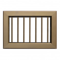 Grille ventilation porte et cheminée 220x150mm