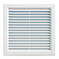 Grille ventilation PVC traditionnelle 240x240mm - A encastrer