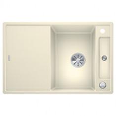 Évier de cuisine Axia III 45S - Jasmin - sous-meuble 45 cm - L 780 x l 510 x P 185 mm + planche en verre - Blanco