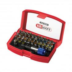 Jeu d'embouts de vissage à code couleur TORSIONpower 1/4'', 32 pcs KS Tools 918.3030
