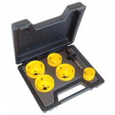 Jeu de 5 scies cloches C.K. + outils pour électricien 424044