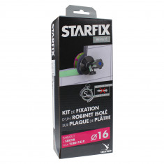 """Sortie de cloison STARFIX PER-Femelle 1/2"""" (15/21) pour robinet sur plaque de plâtre sans chevilles"""