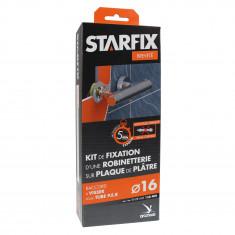 """Sortie de cloison STARFIX PER Ø16 Raccords à Compression - Femelle 1/2"""" (15/21) pour robinetterie entraxe 150 mm"""