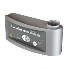 Kit mixte électrique 1250W pour sèche-serviettes - Boîtier digital gris