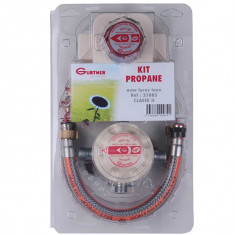 Kit propane classe 2 pour chaudière - 3kg/h + 2 lyres 35cm inox